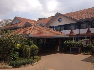 Gertrude's Children Hospital where we are teaching