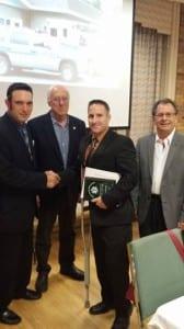 Paramedic Bill Spadafora received the ALS Provider of the Year Award.